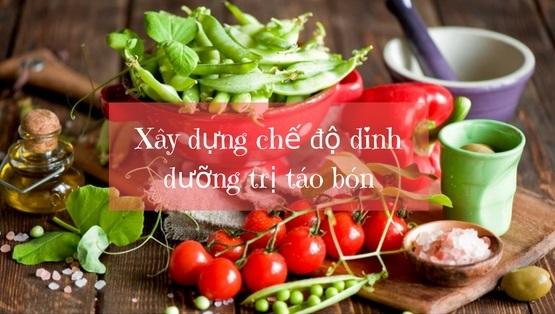 Chế độ ăn uống hợp lý giúp chữa táo bón hiệu quả hơn