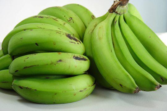 Chuối xanh không phải là thực phẩm nên ăn khi bị bệnh táo bón