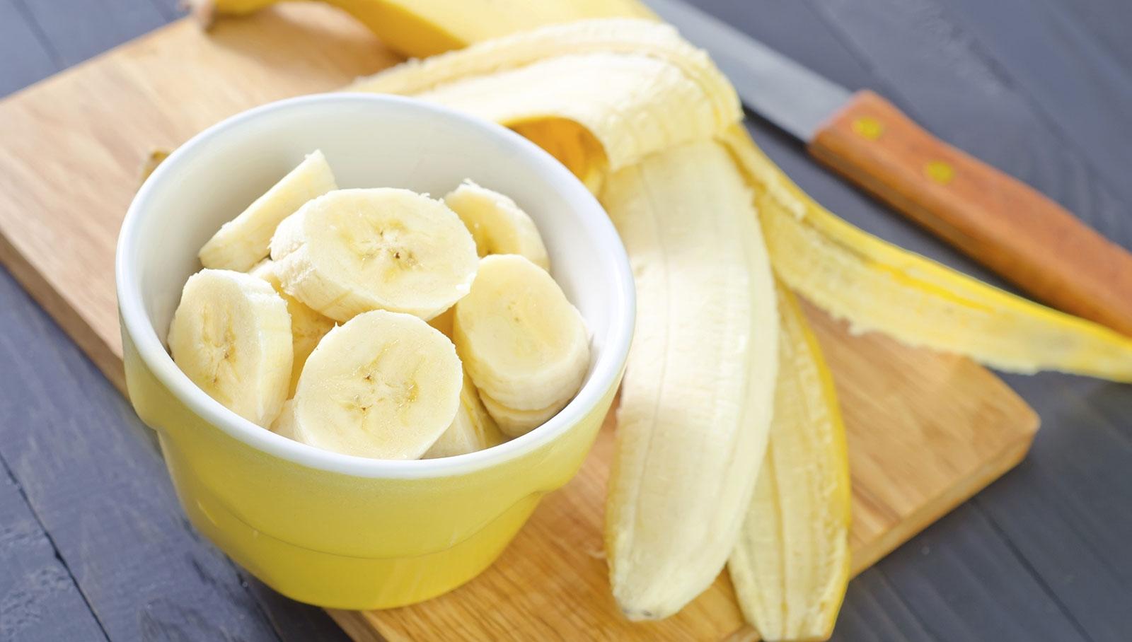 Chuối: Thực phẩm nhuận tràng dùng để chữa táo bón rất nhanh