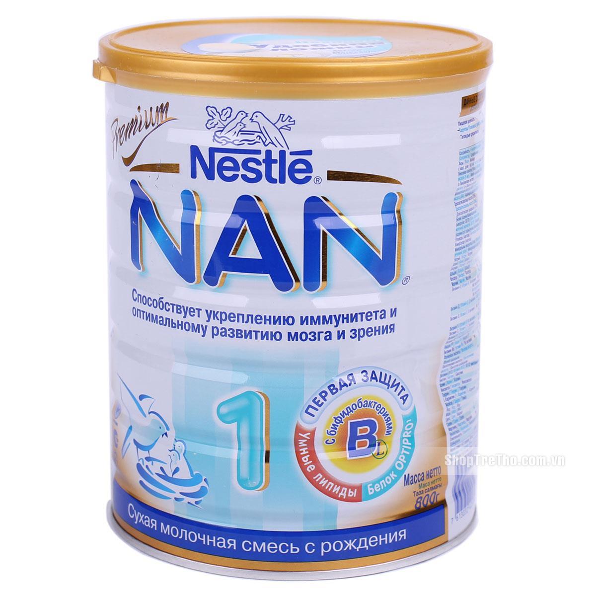 Sữa Nan Nga tốt cho trẻ bị táo bón
