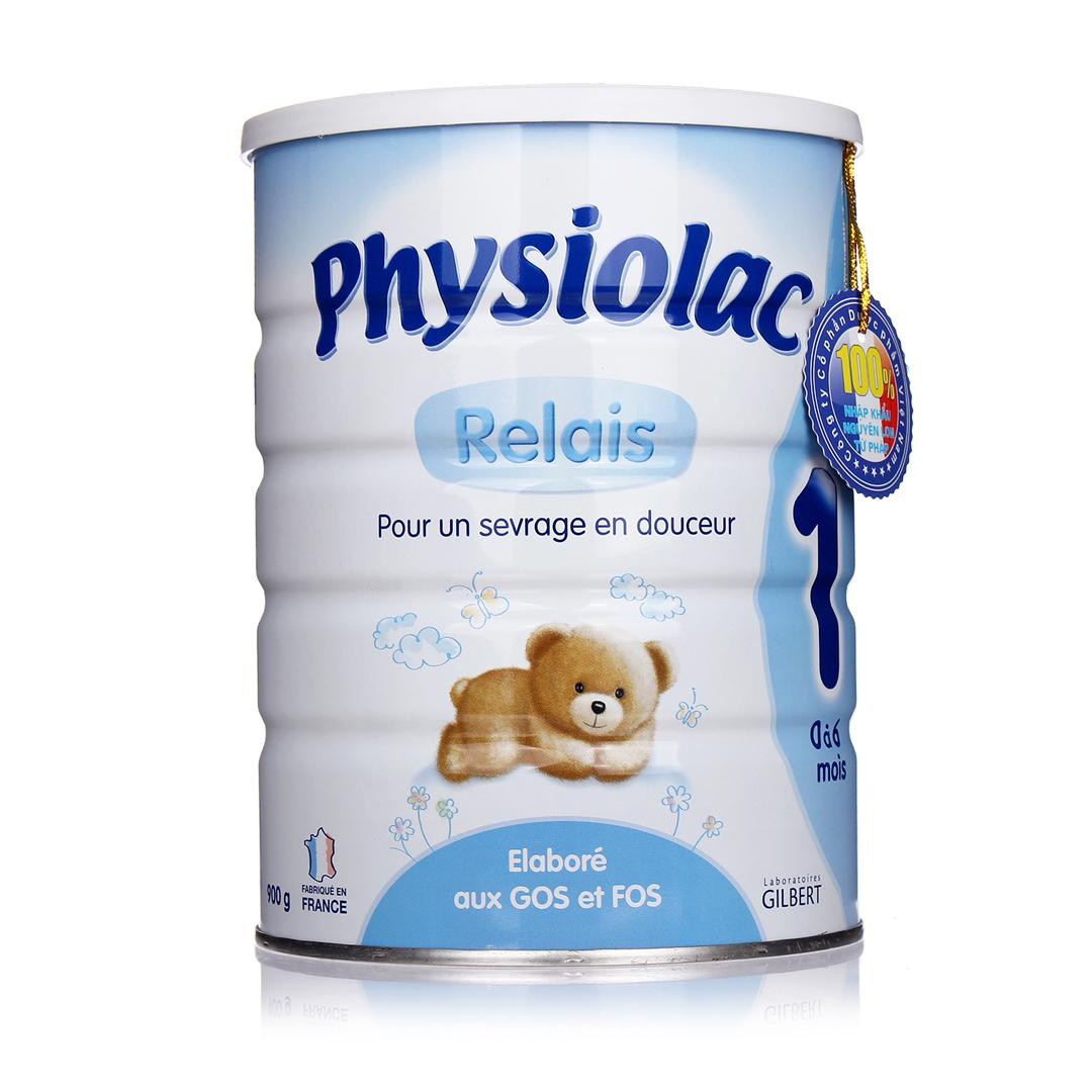 Sữa Physiolac Pháp tốt cho trẻ bị táo bón
