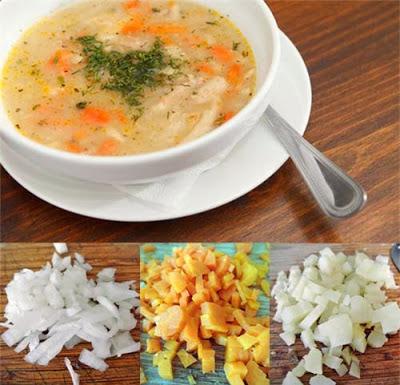 Súp khoai tây, cà rốt và củ cải: Món ngon chữa táo bón cho trẻ