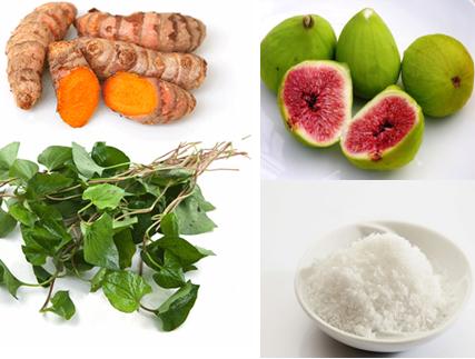 Cách trị bệnh trĩ hiệu quả bằng củ nghệ, rau diếp cá, quả sung và muối