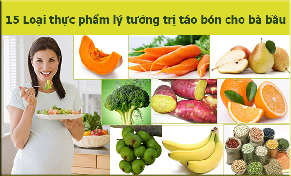Những loại thực phẩm mà bà bầu nên ăn để tránh táo bón
