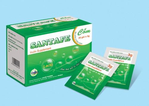 Thuốc trị táo bón Santafe giá bao nhiêu?