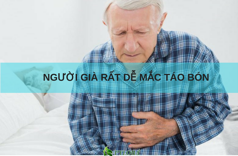 cách phòng ngừa bệnh táo bón ở người già