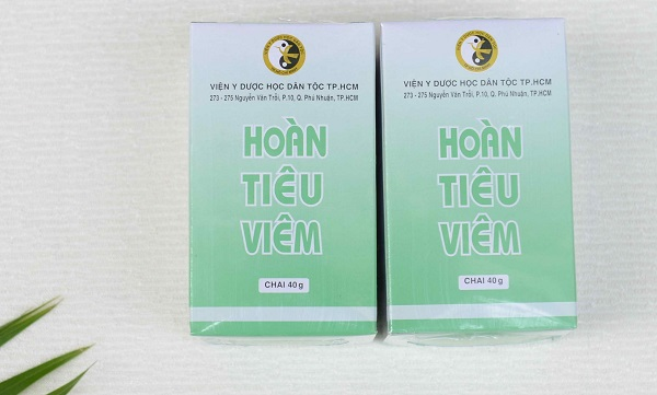 hoàn tiêu viêm - sản phẩm của Viện Y Dược Học Dân Tộc TP.HCM