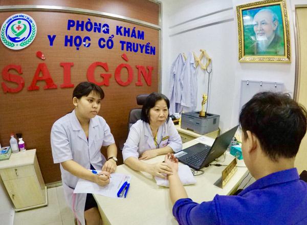 Phòng khám bệnh trĩ Y học cổ truyền Sài Gòn