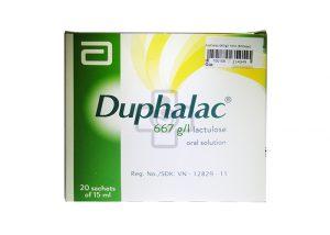 Thuốc nhuận tràng Duphalac trị táo bón mãn tính