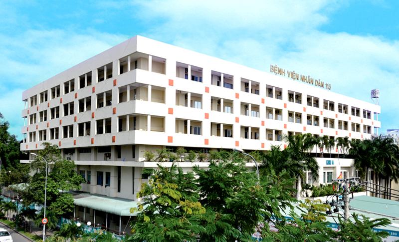bệnh viện 115- địa chỉ tiêm xơ búi trĩ tốt tại TPHCM