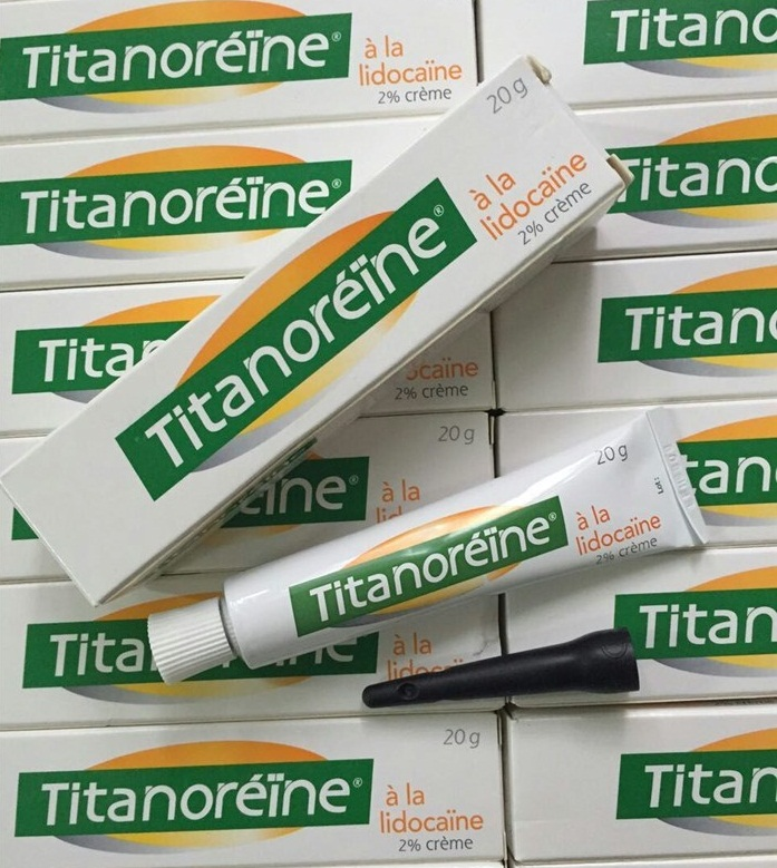 Thuốc bôi trĩ cho trẻ Titanoreine