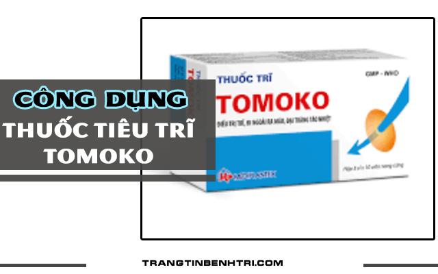 công dụng thuốc trĩ tomoko