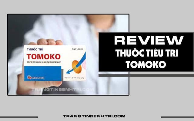 review thuốc tiêu trĩ tomoko có tốt không